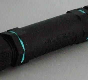 Kabelverbinder Gabionen Beleuchtung