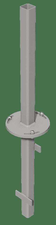 Adapter zum Einbetonieren GroJa Solid Konsole GJ 450, verzinkt 1