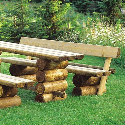 Holz Gartenbank