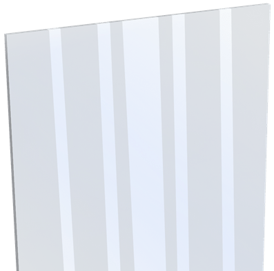 Glas Sichtschutz mix-it Designeinsatz 30 cm ESG 1