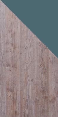 GroJa Premo HPL Sichtschutzelement, Schräg, Holzoptik 1
