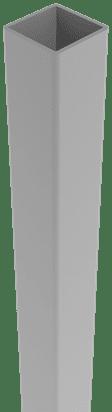 Alu Pfosten Groja zum Einbetonieren 150, Silbergrau 1