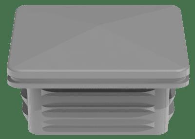 Pfostenkappe 6x6 cm für GroJa Alupfosten, EV1 1