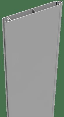 Alufüllung GroJa Lumino 180, Silbergrau 1