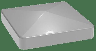 Pfostenkappe Silbergrau GroJa Lumino Alu-Stecksystem 1