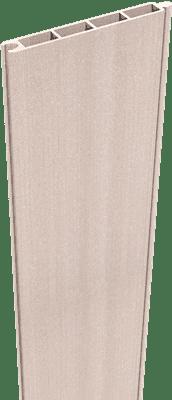 Zaunfüllung GroJa Solid BPC-Stecksystem 180 cm, Bi-Color Weiß 1