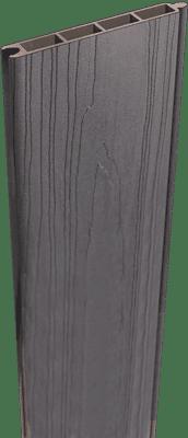 Füllung Sichtschutz GroJa Solid 180 cm, Steingrau co-extrudiert 1