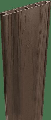 Zaunbretter GroJa Solid BPC-Stecksystem Füllung 180 cm, Walnuss co-extrudiert 1
