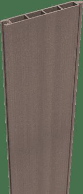 Steckzaun Füllung GroJa Solid BPC 180 cm, Terra 1