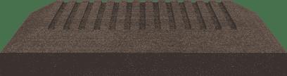 GroJa Sombra Pfostenkappe, Graphite Black 1