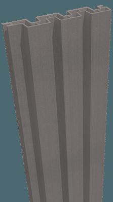 Einzelprofil GroJa Sombra WPC-Stecksystem 180, Schallhemmend, Stone Grey 1