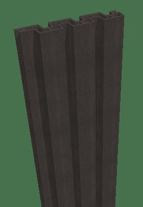 GroJa Sombra WPC-Stecksystem Füllung 180, Schallhemmend, Graphite Black 1