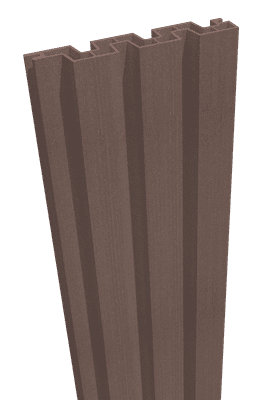 GroJa Sombra WPC-Stecksystem Füllung 180, Schallhemmend, Tropical Brown 1