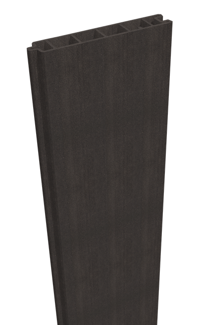 GroJa Sombra WPC Sichtschutz Füllung 180, Standard, Graphite Black 1