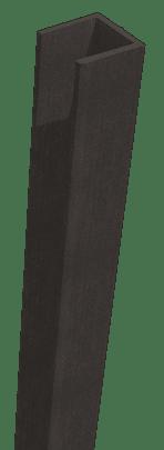 GroJa Sombra WPC-Stecksystem Rahmen, Schallhemmend, Graphite Black 1