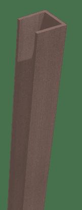 GroJa Sombra WPC-Stecksystem Rahmen, Schallhemmend, Tropical Brown 1