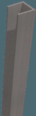 GroJa Sombra WPC-Stecksystem Rahmen, Schallhemmend, Stone Grey 1