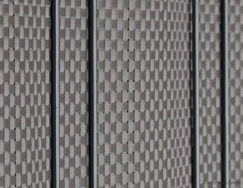 Sichtschutz bastline grau