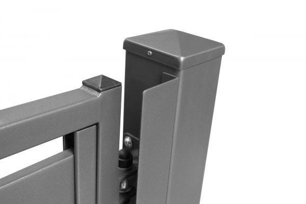 Lamellentor aus Stahl